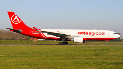 A picture of TCAGL - Airbus A330203 - AtlasGlobal - © C. v. Grinsven