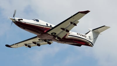 N724HS - Pilatus PC-12/45 - Private
