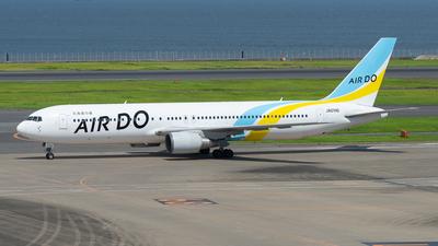 JA01HD - Boeing 767-33A(ER) - Air Do (Hokkaido International Airlines)