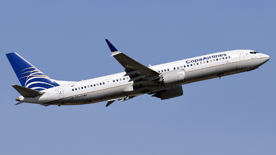 A picture of HP9902CMP - Boeing 737 MAX 9 - Copa Airlines - © Eric Graf