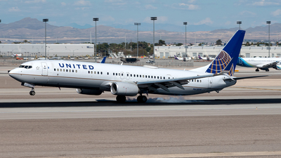 N63899 - Boeing 737-924ER - United Airlines