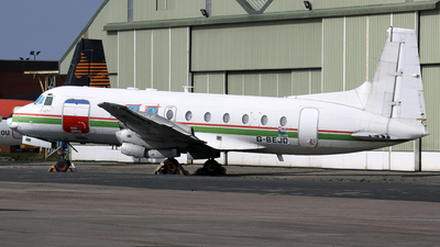 G-BEJD - Hawker Siddeley HS-748 - Emerald Airways