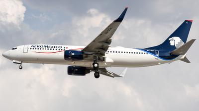 A picture of XAOCA - Boeing 7378JP - Aeromexico - © Francisco Enrique Islas