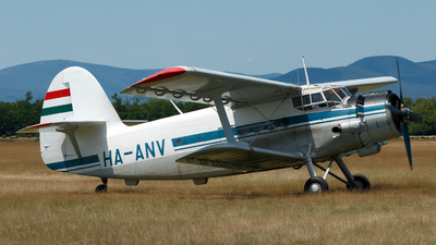 HA-ANV - PZL-Mielec An-2 - Private