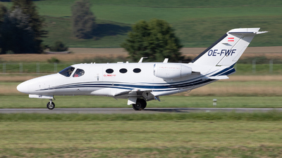 A picture of OEFWF - Cessna 510 Citation Mustang - GlobeAir - © Alex
