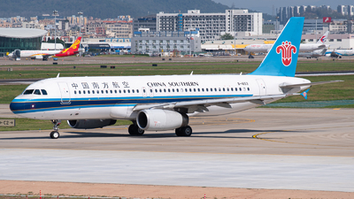 A picture of B1653 - Airbus A320232 - China Southern Airlines - © Shiori Daredemo Daisuki