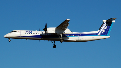 A picture of JA851A - De Havilland Canada Dash 8400 - All Nippon Airways - © pinky_momo