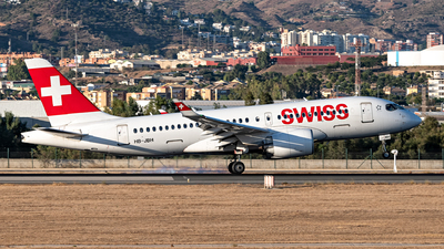 A picture of HBJBH - Airbus A220100 - Swiss - © EduAtienza