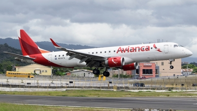 N936TA - Embraer 190-100IGW - Avianca Central America