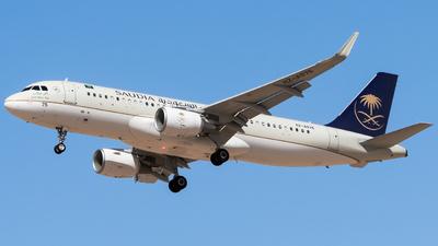 HZ-AS75 - Airbus A320-214 - Saudi Arabian Airlines