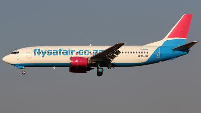 ZS-JRL - Boeing 737-46M - FlySafair