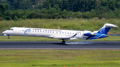 B-3371 - Bombardier CRJ-900LR - China Express Airlines