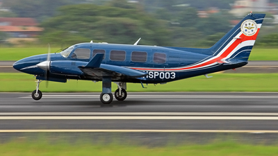 MSP003 - Piper PA-31-350 Chieftain - Costa Rica - Ministry of Public Security