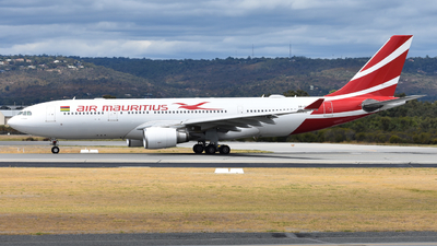 A picture of 3BNBM - Airbus A330202 - Air Mauritius - © Jarrod Swanwick
