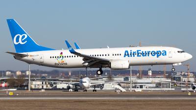 EC-LYR - Boeing 737-85C - Air Europa
