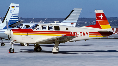 HB-DVY - Mooney M22 Mustang - Private