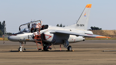 26-5674 - Kawasaki T-4 - Japan - Air Self Defence Force (JASDF)