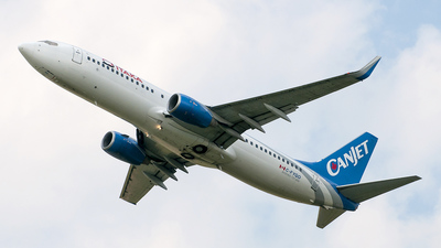 C-FYQO - Boeing 737-8AS - CanJet Airlines