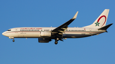 CN-RNP - Boeing 737-8B6 - Royal Air Maroc (RAM)