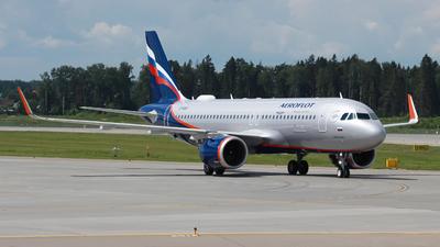 A picture of VPBSF - Airbus A320251N - Aeroflot - © Belikov Ilya