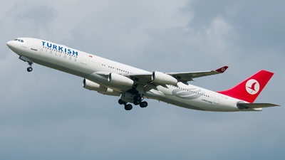 TC-JDK - Airbus A340-311 - Turkish Airlines