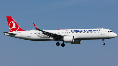 A picture of TCLSM - Airbus A321271NX - Turkish Airlines - © Rickard Andersson