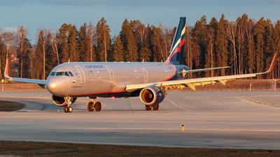 A picture of VPBEG - Airbus A321211 - Aeroflot - © Konstantin Tupichkin