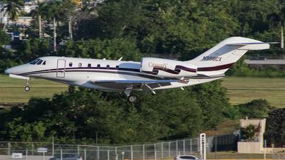 N998CX - Cessna 750 Citation X - Private