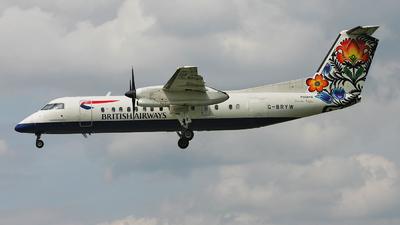 G-BRYW - Bombardier Dash 8-Q311 - British Airways (CitiExpress)