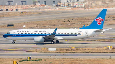 A picture of B1403 - Boeing 73781B - China Southern Airlines - © Yan Shuai