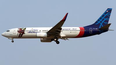 A picture of PKCMI - Boeing 7378Q8 - [28214] - © Bernard Effendy
