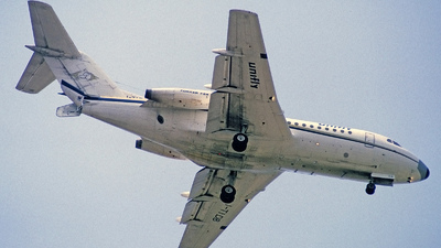 I-TIDB - Fokker F28-1000 Fellowship - Unifly Express