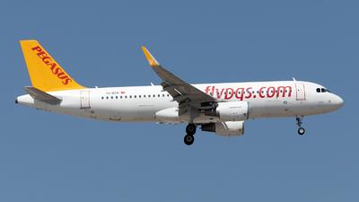 TC-DCH - Airbus A320-214 - Pegasus Airlines
