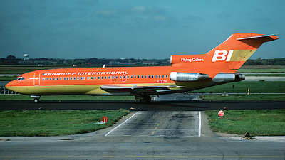 N7279 - Boeing 727-27C - Braniff International Airways