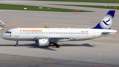 TC-FBF - Airbus A320-211 - Freebird Airlines