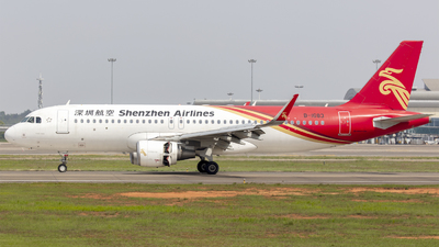 A picture of B1683 - Airbus A320214 - Shenzhen Airlines - © Eric Wang