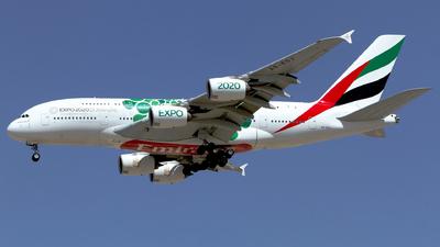 A picture of A6EOJ - Airbus A380861 - Emirates - © M. Azizul Islam