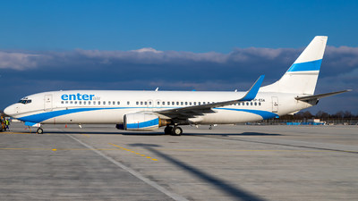 A picture of SPESA - Boeing 7378Q8 - Enter Air - © Martin Tietz