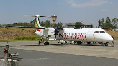 ET-AXW - Bombardier Dash 8-Q402 - Ethiopian Airlines