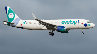 EC-LZD - Airbus A320-214 - Evelop Airlines
