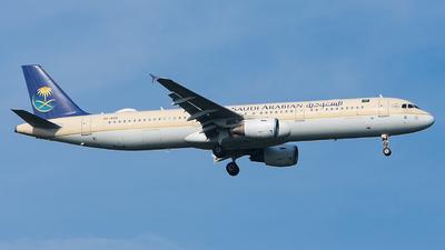 A picture of HZASQ - Airbus A321211 - Saudia - © Luca Cesati