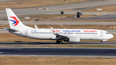 A picture of B6145 - Boeing 73789P - China Eastern Airlines - © Yan Shuai