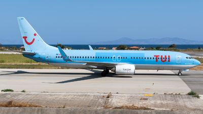 A picture of OOJBG - Boeing 7378K5 - TUI fly - © Marco Papa