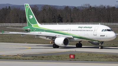 YI-ARD - Airbus A320-214 - Iraqi Airways