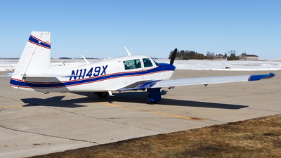 N1149X - Mooney M20J-201 - Private