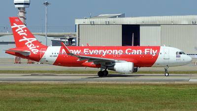 HS-BBR - Airbus A320-216 - Thai AirAsia