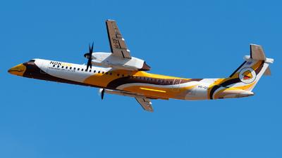 A picture of HSDQF - De Havilland Canada Dash 8400 - Nok Air - © Amarase Pamarapa