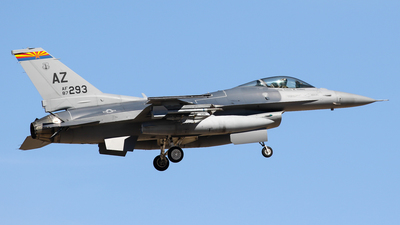 87-0293 - General Dynamics F-16C Fighting Falcon - United States - US Air Force (USAF)