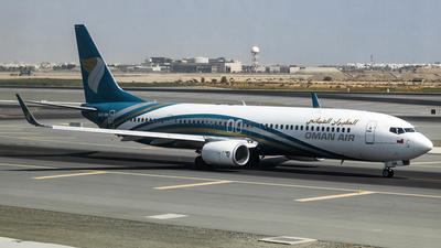 A picture of A4OBK - Boeing 73791M(ER) - Oman Air - © David Lee