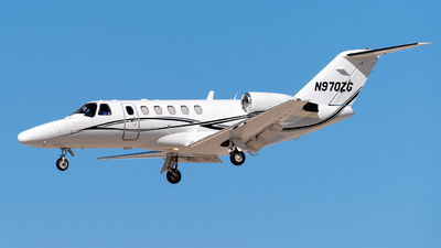N970ZG - Cessna 525A CitationJet CJ2 - Private